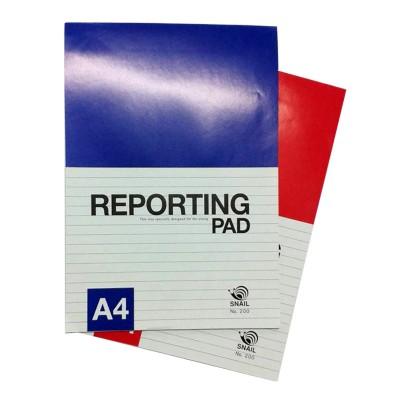 สมุดรายงาน 10 บาท A4 NO.200 (แพ็ค 12 เล่ม)