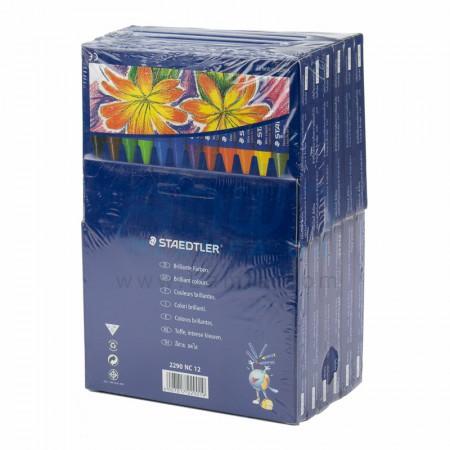(แพ็ค 12 กล่อง) สีเทียน 12 สี จัมโบ้ 2290NC12 STAEDTLER